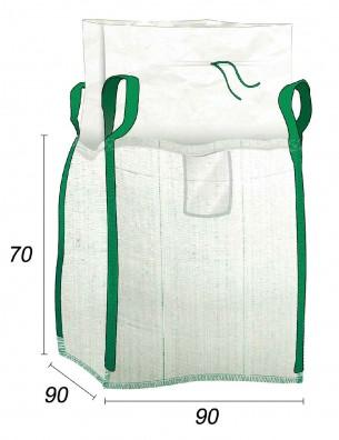 Big Bag Residuos verdes y jardín - 90X90X70