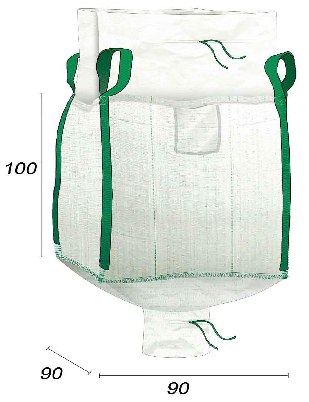 Big Bag Tierra y arena - 90X90X100