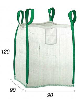 Big Bag  Desechos verdes - 90X90X120