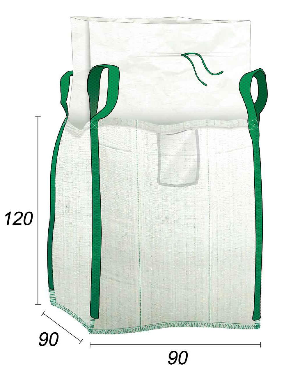 Big Bag Vacío todos residuos - 90X90X120