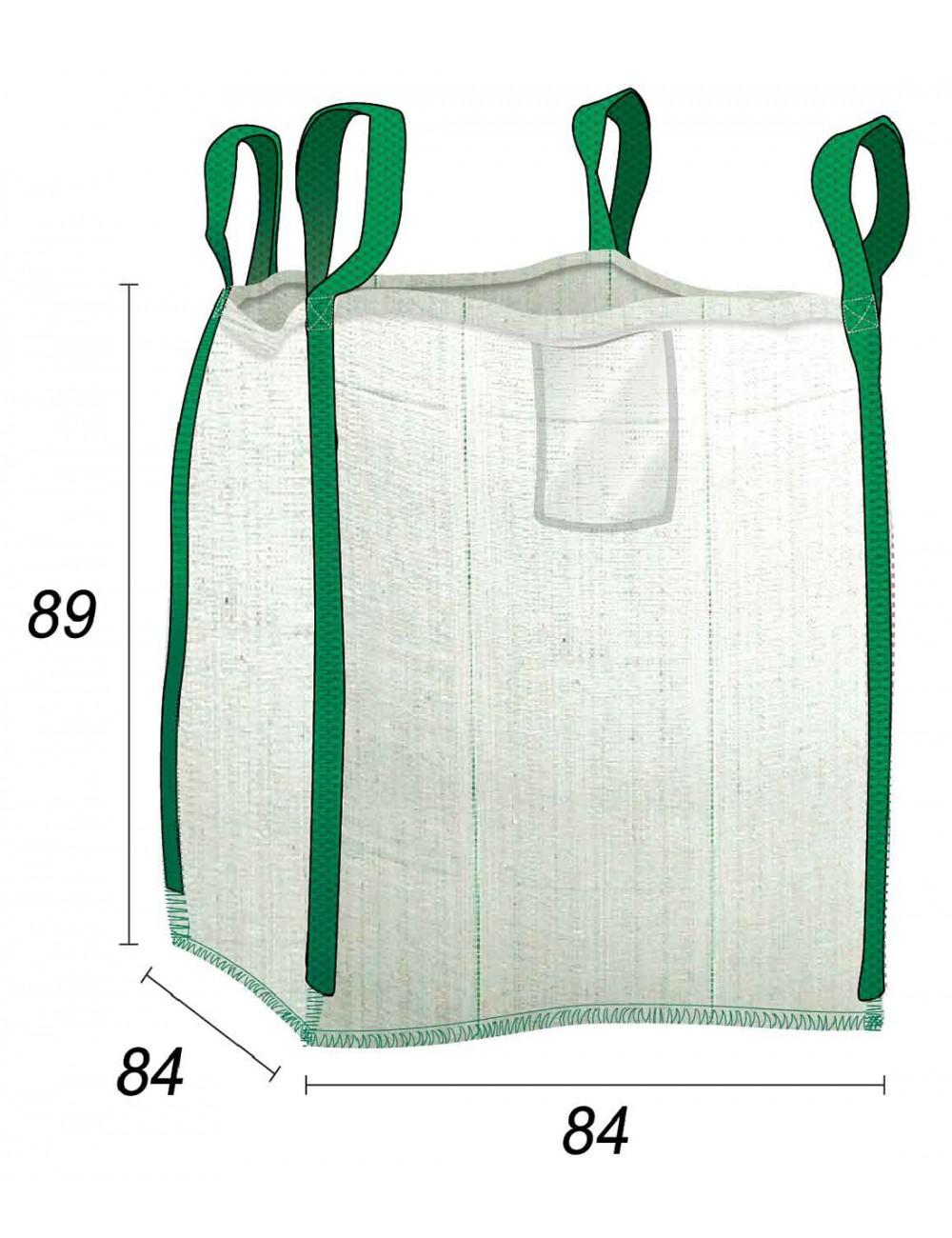 Big Bag Residuos y gravados - 84X84X89