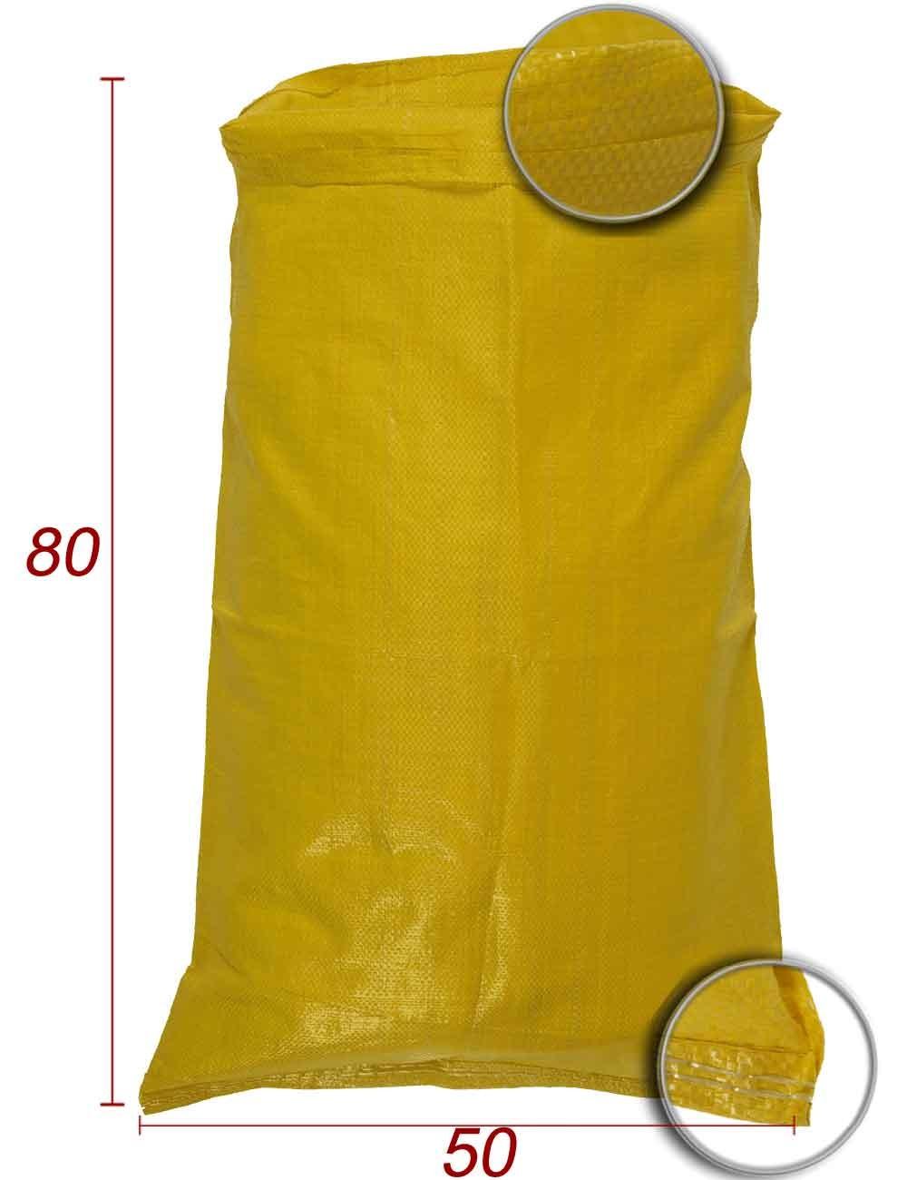 Bolsas de embalaje en Polipropileno Amarillo