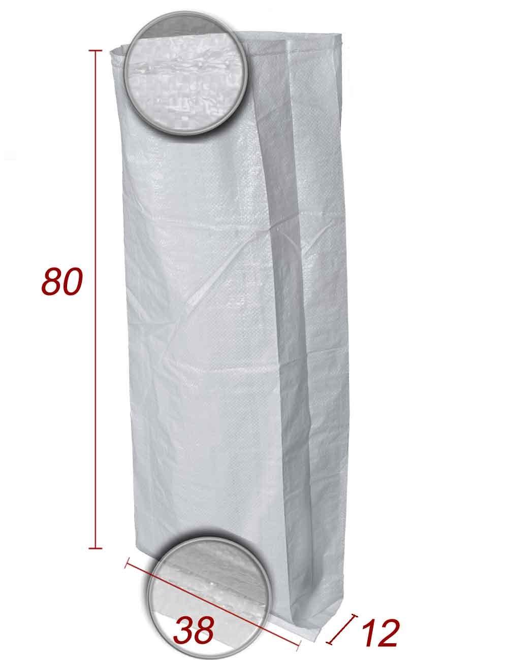 Bolsas de embalaje Polipropileno con fuelle