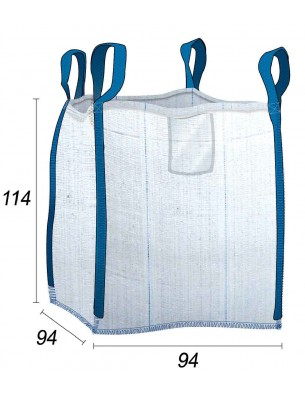 Big Bag Gravados y residuos de obras - 94X94X114