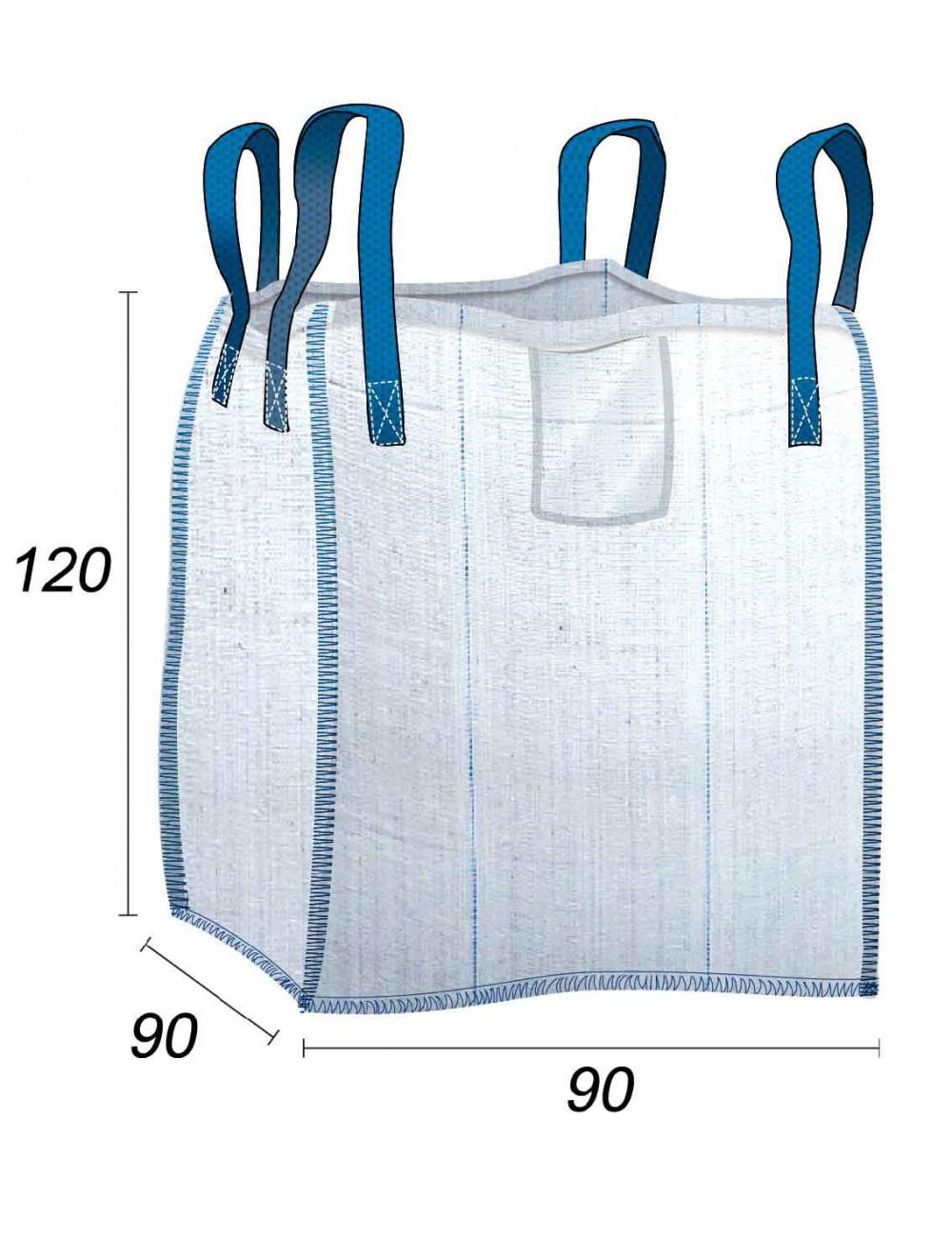 Big Bag Circular Materiales de construcción - 90X90X120