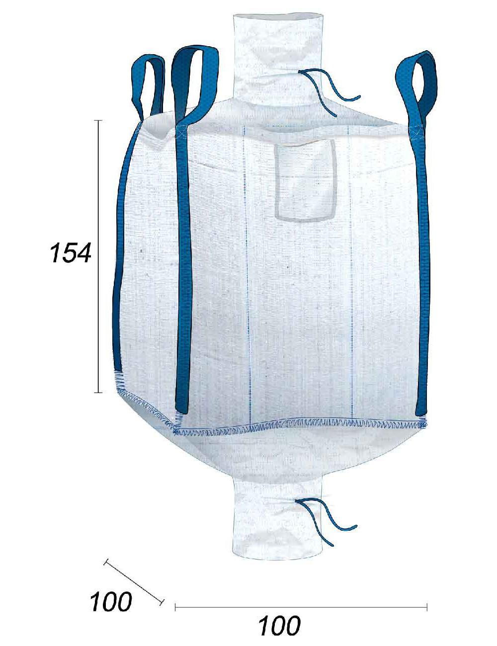 Big Bag Agricola - Abono Compuesto - 100X100X154