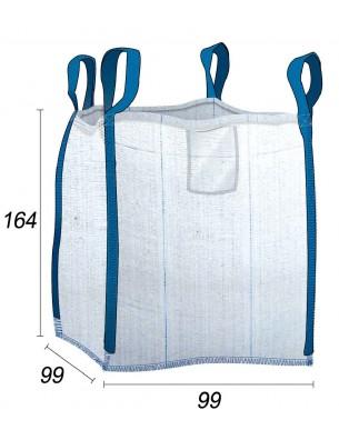 Big Bag Madera y troncos ventilado - 99X99X164