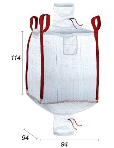 Big Bag Doublé avec Housse PE interne 70µ