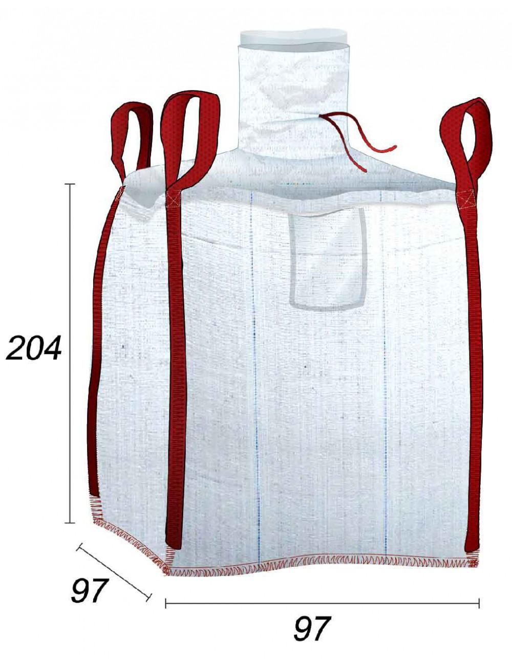 Big Bag con forro 70µ - 97X97X204