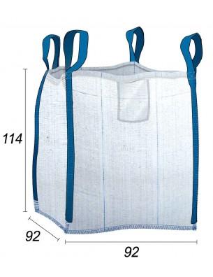 Big Bag bolsa de obra 0,85m3 - 92X92X114