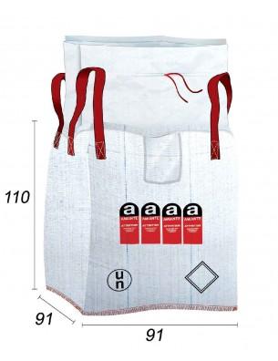 Big Bag Amianto con bolsa cosida - 91X91X110