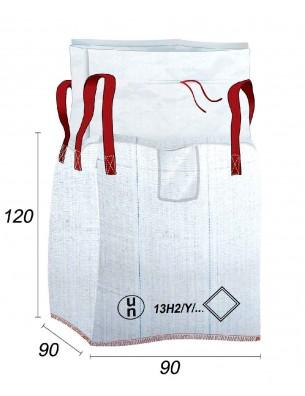 Big Bag Reglamentado UN, costura antifugas - 90X90X120