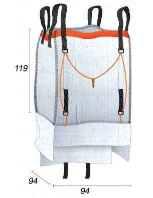 Big Bag Faldón de relleno   - 94X94X119