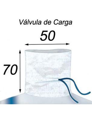 Big Bag Polvos y Suciedad, costura Antifugas - 91X91X170  Válvula de Carga 50X70
