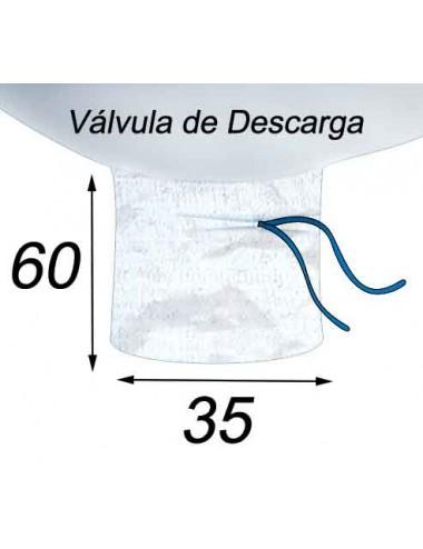 Big Bag  Lechadas y limas - 94X94X144  Válvula de Descarga 35X60